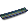 13-inch Stoneware Rolling Pin Cradle - Polmedia Polish Pottery H1559B