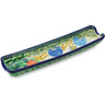13-inch Stoneware Rolling Pin Cradle - Polmedia Polish Pottery H2300C