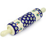 13-inch Stoneware Rolling Pin - Polmedia Polish Pottery H0808D