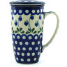 13 oz Stoneware Brewing Mug - Polmedia Polish Pottery H7958H