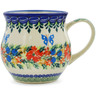 13 oz Stoneware Bubble Mug - Polmedia Polish Pottery H6135K