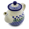 13 oz Stoneware Tea or Coffee Pot - Polmedia Polish Pottery H7209I