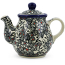 13 oz Stoneware Tea or Coffee Pot - Polmedia Polish Pottery H7306J