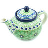 13 oz Stoneware Tea or Coffee Pot - Polmedia Polish Pottery H8691H