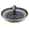 14-inch Stoneware Bowl with Handles - Polmedia Polish Pottery H3743D