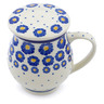 14 oz Stoneware Brewing Mug - Polmedia Polish Pottery H0440J