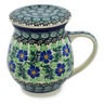 14 oz Stoneware Brewing Mug - Polmedia Polish Pottery H1844K