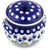 15 oz Stoneware Bouillon Cup with Lid - Polmedia Polish Pottery H4490G