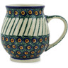 15 oz Stoneware Bubble Mug - Polmedia Polish Pottery H3760K