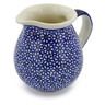 15 oz Stoneware Pitcher - Polmedia Polish Pottery H0500D