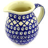 15 oz Stoneware Pitcher - Polmedia Polish Pottery H5817D