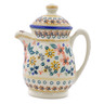 15 oz Stoneware Pitcher with Lid - Polmedia Polish Pottery H2305J