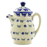 15 oz Stoneware Pitcher with Lid - Polmedia Polish Pottery H4526J