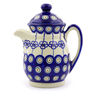 15 oz Stoneware Pitcher with Lid - Polmedia Polish Pottery H7001I