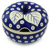 15 oz Stoneware Sugar Bowl - Polmedia Polish Pottery H0466H