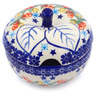 15 oz Stoneware Sugar Bowl - Polmedia Polish Pottery H2242J