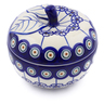15 oz Stoneware Sugar Bowl - Polmedia Polish Pottery H8082G