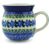 16 oz Stoneware Bubble Mug - Polmedia Polish Pottery H0167F