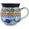 16 oz Stoneware Bubble Mug - Polmedia Polish Pottery H0372B