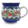 16 oz Stoneware Bubble Mug - Polmedia Polish Pottery H0750J