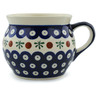 16 oz Stoneware Bubble Mug - Polmedia Polish Pottery H0901A