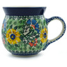 16 oz Stoneware Bubble Mug - Polmedia Polish Pottery H0940I