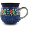 16 oz Stoneware Bubble Mug - Polmedia Polish Pottery H0944I