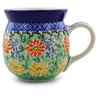 16 oz Stoneware Bubble Mug - Polmedia Polish Pottery H1048I