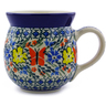 16 oz Stoneware Bubble Mug - Polmedia Polish Pottery H1061I