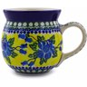 16 oz Stoneware Bubble Mug - Polmedia Polish Pottery H1063B