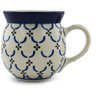 16 oz Stoneware Bubble Mug - Polmedia Polish Pottery H1422B
