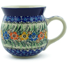 16 oz Stoneware Bubble Mug - Polmedia Polish Pottery H1733B