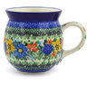 16 oz Stoneware Bubble Mug - Polmedia Polish Pottery H1897F