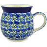 16 oz Stoneware Bubble Mug - Polmedia Polish Pottery H2071E