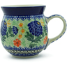 16 oz Stoneware Bubble Mug - Polmedia Polish Pottery H2757E