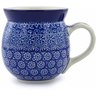 16 oz Stoneware Bubble Mug - Polmedia Polish Pottery H2861B