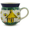 16 oz Stoneware Bubble Mug - Polmedia Polish Pottery H3197E