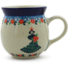 16 oz Stoneware Bubble Mug - Polmedia Polish Pottery H3678K