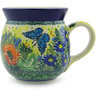 16 oz Stoneware Bubble Mug - Polmedia Polish Pottery H4098G