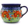 16 oz Stoneware Bubble Mug - Polmedia Polish Pottery H4351I