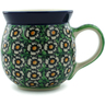 16 oz Stoneware Bubble Mug - Polmedia Polish Pottery H4532I