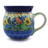 16 oz Stoneware Bubble Mug - Polmedia Polish Pottery H5209I