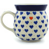 16 oz Stoneware Bubble Mug - Polmedia Polish Pottery H5632H