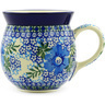 16 oz Stoneware Bubble Mug - Polmedia Polish Pottery H5639E