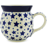 16 oz Stoneware Bubble Mug - Polmedia Polish Pottery H5676J