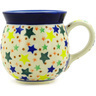 16 oz Stoneware Bubble Mug - Polmedia Polish Pottery H6571D