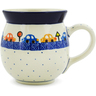 16 oz Stoneware Bubble Mug - Polmedia Polish Pottery H6598J
