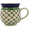 16 oz Stoneware Bubble Mug - Polmedia Polish Pottery H6653J