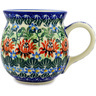 16 oz Stoneware Bubble Mug - Polmedia Polish Pottery H6668B