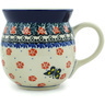 16 oz Stoneware Bubble Mug - Polmedia Polish Pottery H6731H
